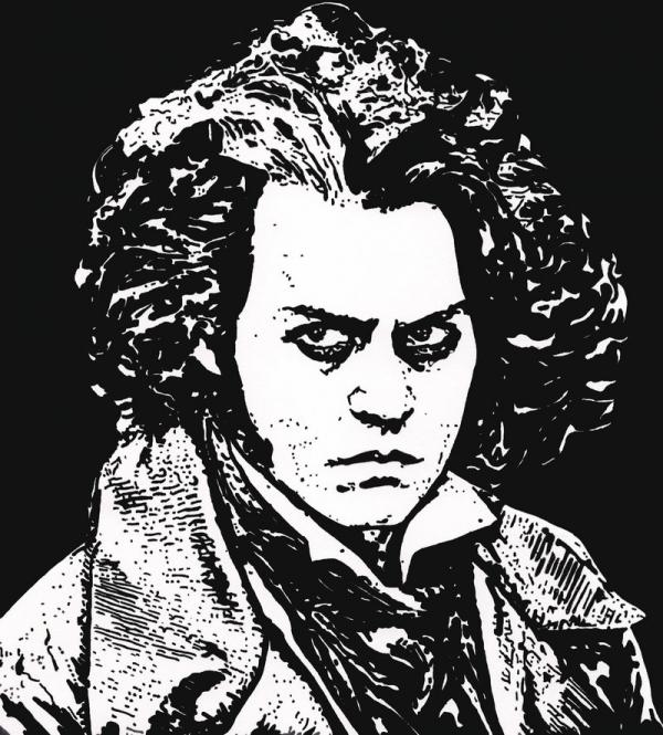 Johnny Depp by ladyjart